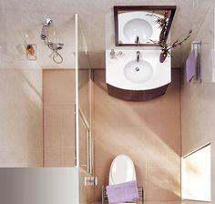 11 brilliant ideas for small bathrooms
