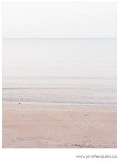 Minimalist Photography - Lake Huron #3 Jennifer Squires