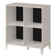 compo meuble de rangement contemporain 8 cases col etagres pinterest