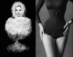 corset Bw Photography, Fashion Photography, Fashion Shoot, Editorial Fashion, Jeanloup Sieff, Lingerie Shoot, Lace Tights, French Photographers, Body Image