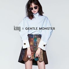 < KONG X GENTLE MONSTER > COLLABORATION CAPSULE COLLECTION TYPE SERIES 2016 .02 .19 . . #Kong #Gentlemonster #typeseries #collaboration #capsulecollection #type1 #KongXGm #type2 #sunglasses #gentlemonstersunglasses #konghyojin