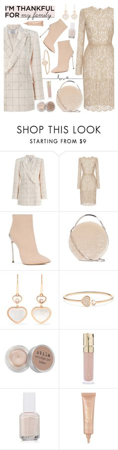 """I'm thankful for my family"" by freshprincesse ❤ liked on Polyvore featuring Zimmermann, Dolce&Gabbana, Casadei, Eddie Borgo, Chopard, Stila, Smith & Cult, Essie and tarte"