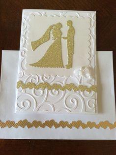 Sobre y tarjeta boda