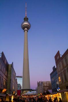 #Germany #Berlin #TV-Tower Xmas-Market