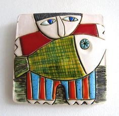 Ceramic Art Tile Home Decoration Handmade Houses Ceramic Tile Art, Ceramic Painting, Art Installation, Handmade Home, Handmade Ceramic, Contemporary Ceramics, Mosaic Patterns, Pottery Art, Decoration