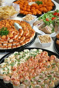 Unique Reception Food Ideas