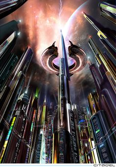 Alien UFO Sightings: Cities of the Future - Part Two (ARTWORK)