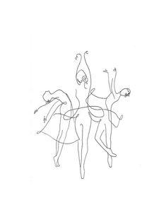 Body Drawing, Line Drawing, Illustration Ligne, Dancer Silhouette, Outline Art, Ballet Dancers, Ballet Dancer Tattoo, Belle Photo, Female Art