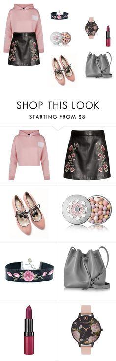 """Flowery"" by ustine on Polyvore featuring moda, New Look, Boden, Guerlain, Lancaster, Rimmel i Olivia Burton"