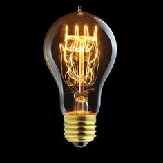 Kooldraadlamp Peer Curl E27