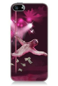 Stripper Sloth iPhone 5c Case on the redditgifts Marketplace..... AHHHHH LEXUS AND MADDI AND BRI