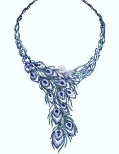 Boucheron Peacock Necklace