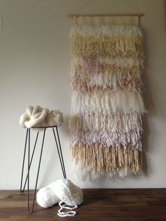 Shag weaving by Maryanne Moodie