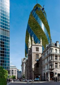 Real Architecture Buildings vertical park: stackable solar skyscraper for mexico city | green