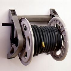 Suncast's Hose Handler hose reel provides convenient, wall mounted storage for your garden hose. Sturdy resin construction makes it…