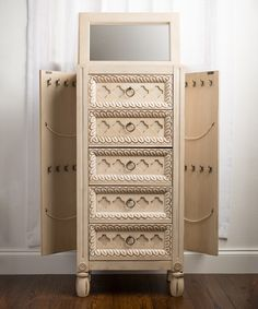 Look at this Hives & Honey Abby Jewelry Armoire on #zulily today!