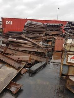 Police have recovered 181 tons of stolen railway tracks and railway sleepers, worth R8million, from a scrapyard in South Durban.
