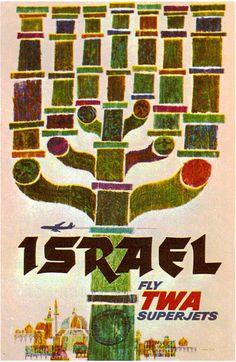 Israel TWA Poster