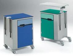 Click to view larger image Bedside Cabinet, Cabinet Furniture, Furniture Design, Modern Hospital, Medical Design, Bedside Tables, Steel Structure, Luxury Homes, Innovation