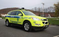 2011 Chevy Traverse ALS Unit Danville Ambulance Service, Danville, PA City Of Columbus, Columbus Georgia, Columbus Fire Department, Dr Car, Rescue Vehicles, Fire Trucks, Ems, Chevy, Police