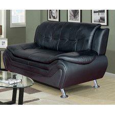 Linda Leather Sofa