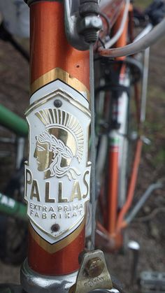 Cinelli Milano Bicycles Metal Headbadge Silver Type