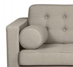 3-Sitzer Sofa Chelsea Leder Cognac (Kufen) günstig online kaufen - Fashion For Home