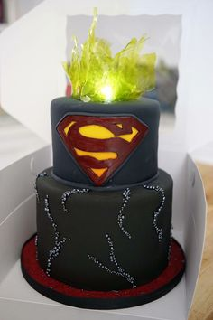78 Best Cakes Superman Images In 2019 Superman Cakes