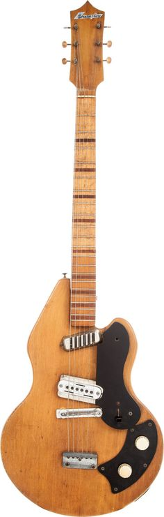 1958 Stratosphere Natural Solid Body Electric Guitar.... Image #1