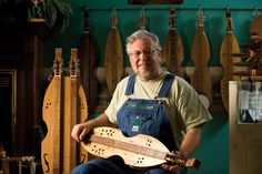 Dulcimer Player Makes Music;  Mike Clemmer's dulcimers are the best!  I've had four of his custom instruments - beautiful and the sound is incredible!