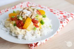 It's all in the sauce with Hawaiian Haystacks! This creamy, flavorful sauce gets a zesty tang with the mixture of toppings. It's a fun dinner, and kids love creating their own!You can make this either in your crock pot or last minute- either way it is a hit. Serve over rice (Coconut Rice is …