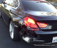 BMW 3-8 Series 6-Series crashed in Rocklin, California