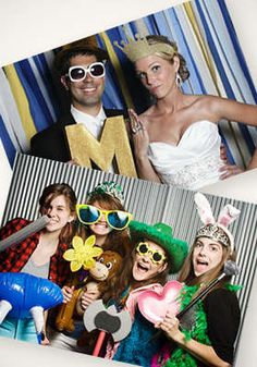 hi {love} photography -   Three-Hour Photo Booth Rental with Attendant, Prop Box, White Backdrop, Live Viewing of Photos, Online Viewing Gallery, and CD of Images   @LivingSocial