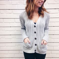 Grandpa's Threads Cardigan - Hunnis Urban Boutique