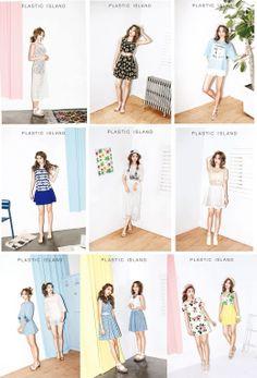 SISTAR 보라 & 효린 Bora & Hyorin   Plastic Island magazine