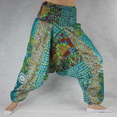 Turecké kalhoty - Aladinky - Haremky - Pumpy Orientalni KR03 Harem Pants, Fashion, Moda, La Mode, Harlem Pants, Fasion, Fashion Models, Trendy Fashion, Harem Trousers