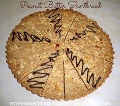Simply Sweet 'n Savory: Peanut Butter Shortbread