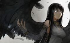 wallpaper: Mabinogi, video games, Morrighan, angel, wings, anime ...