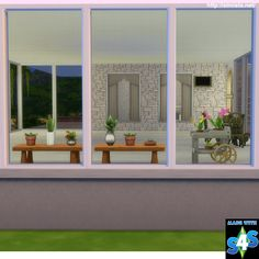 Sims 4 CC's - The Best: Mesh Screen Window by Simista