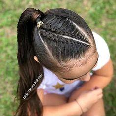 Lovely Kids Braided Hair Ideas For 2020 New Trendy Hair Ideas Lil Girl Hairstyles, Princess Hairstyles, Trendy Hairstyles, Braided Hairstyles, Softball Hairstyles, Curly Hair Styles, Natural Hair Styles, Girl Hair Dos, Toddler Hair