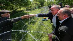"""It's an occupation"", said Kiska, speaking on Russia's encroachment into Georgia."