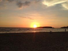 Sunset hermoso en Punta Hermosa!