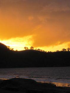 Sunset from Charlie Farley's in Onetangi