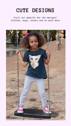 Visit our website and buy clothes with cute animal designs for your loved ones! #cute #children #clothes #design #cat Rosa T Shirt, Equality Shirt, Social Equality, Black Lives Matter Shirt, Beautiful Black Girl, Brown Girl, Birthday Shirts, Kids Shirts, In This World