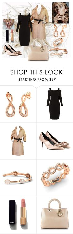 """Style accessories"" by diamondere ❤ liked on Polyvore featuring Elie Tahari, Prada, Roger Vivier, Chanel and Christian Dior"