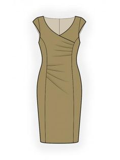 Patterns in sizes Beautiful Dresses, Nice Dresses, Dresses For Work, Patchwork Dress, Drawing Clothes, Dress Sewing Patterns, African Attire, Saree Styles, Free Clothes