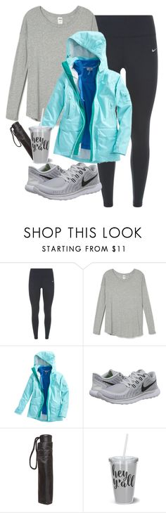 """Running in leagues today!!"" by keileeen ❤ liked on Polyvore featuring NIKE, Vineyard Vines and Dorothy Perkins"