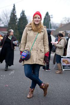 Urban Weeds: Street Style from Portland Oregon: Ashley at the Portland Bazaar