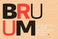 Bruum FY Black Italic by FONTYOU on Creative Market