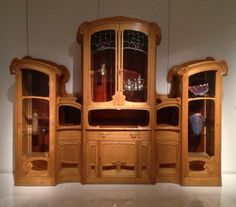 Cabinet by Victor Horta